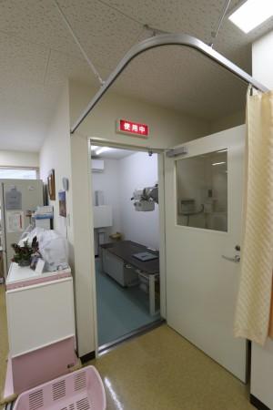 エックス線検査室