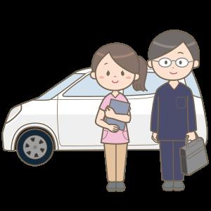 visit-nursing-practitioner-nurse-car
